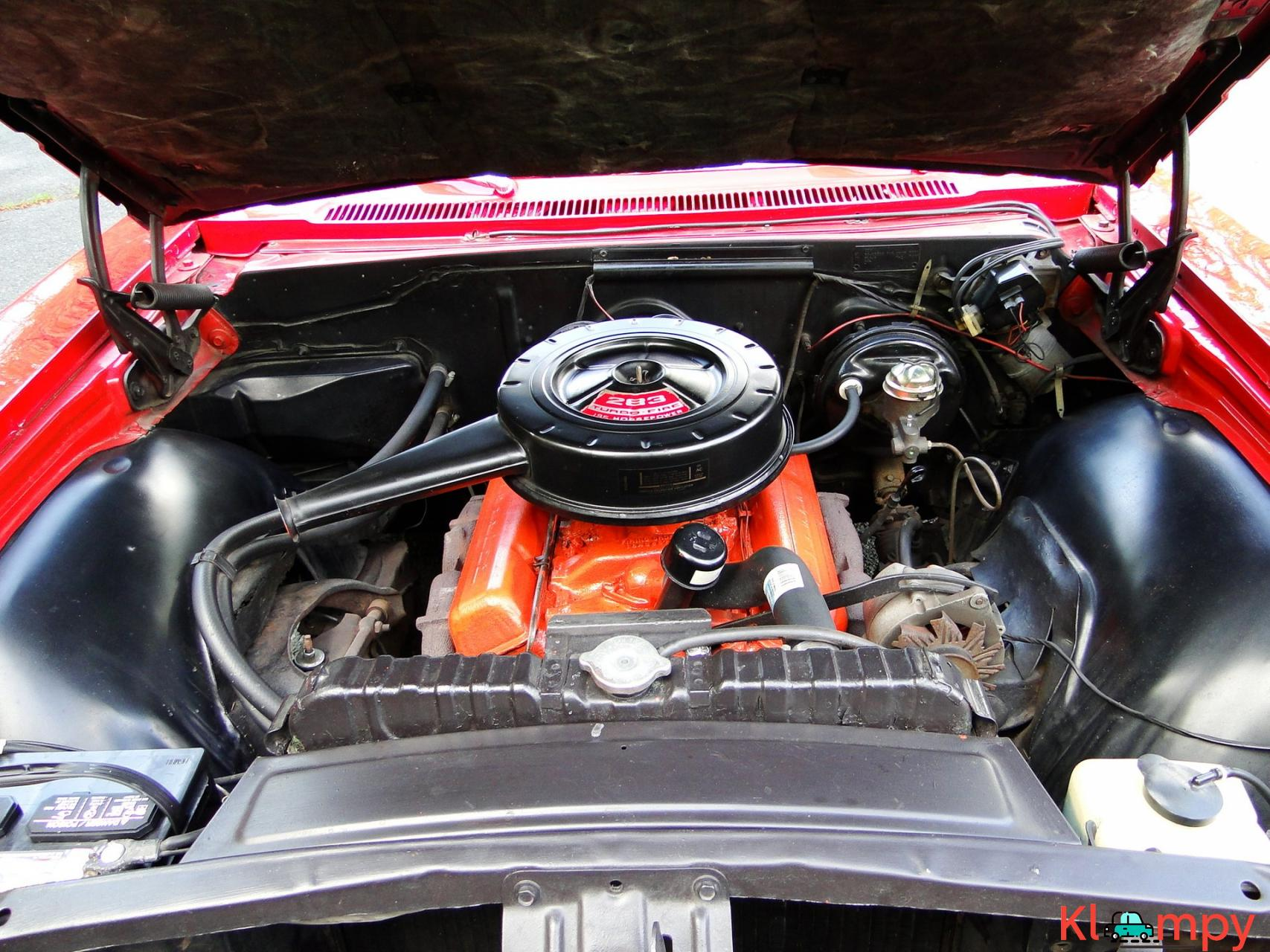 1966 Chevrolet Impala SS Convertible Regal Red V8 - 19/23