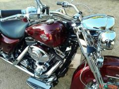 2003 Harley-Davidson Touring Red
