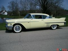 1958 Cadillac DeVille Series 62 Coupe RWD