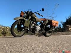 1942 HARLEY DAVIDSON XA EXPERIMENTAL ARMY AIR HEAD