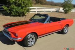 1967 Ford Mustang GT Convertible 289