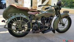 1924 Harley-Davidson JD with Sidecar