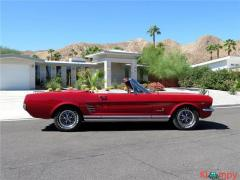 1966 Ford Mustang GT Red