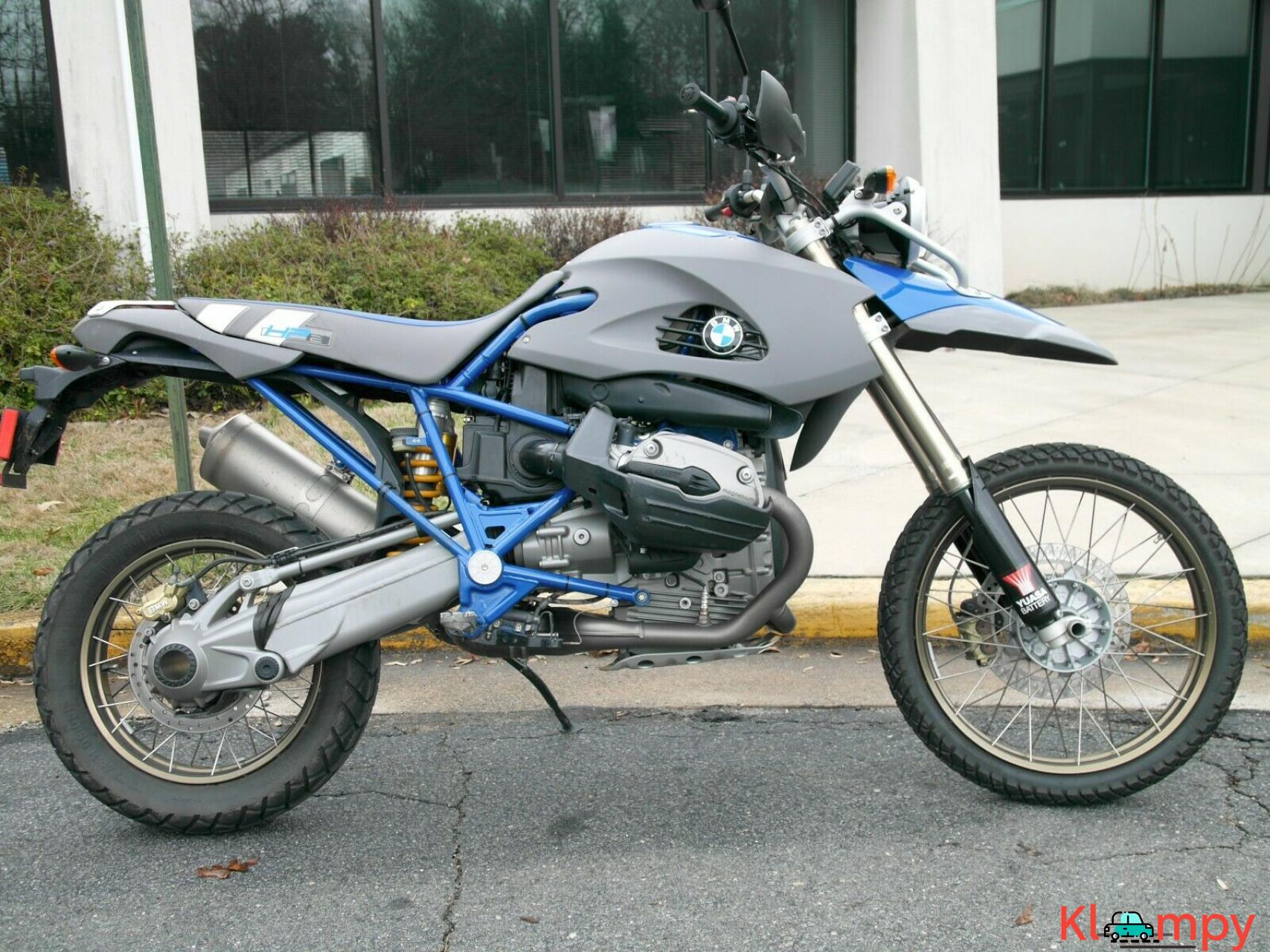 2006 BMW Enduro Blue - 1/18