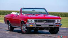 1966 Chevrolet Chevelle SS Convertible - Image 1/15
