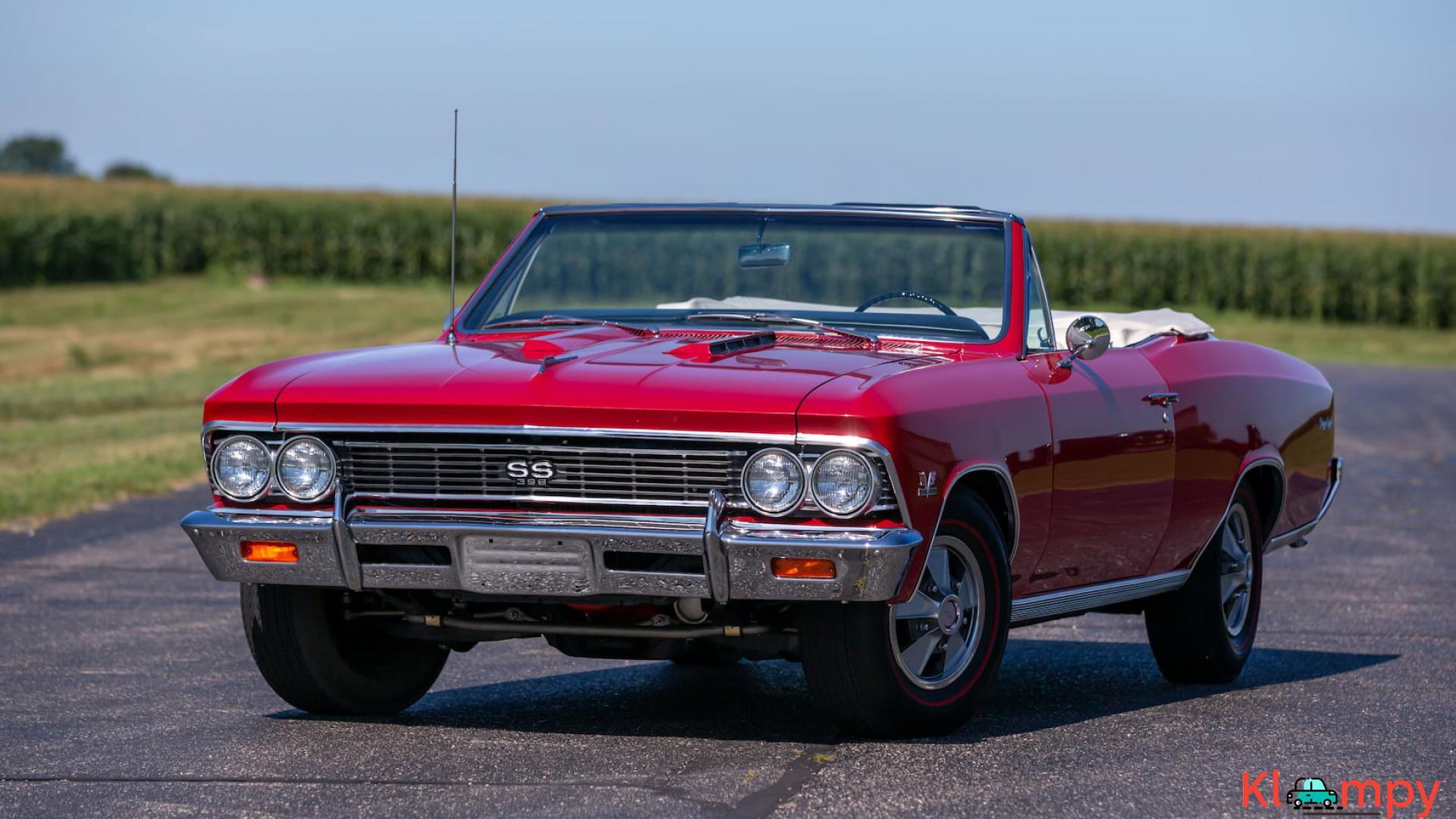 1966 Chevrolet Chevelle SS Convertible - 2/15