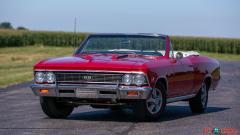 1966 Chevrolet Chevelle SS Convertible - Image 2/15
