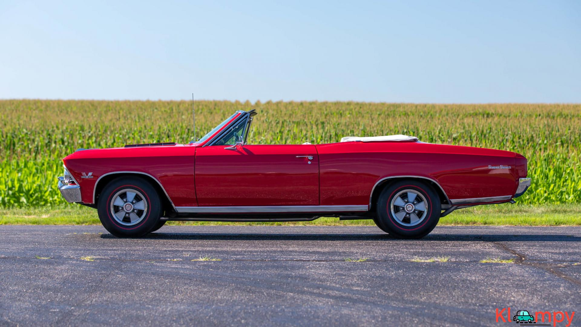 1966 Chevrolet Chevelle SS Convertible - 3/15