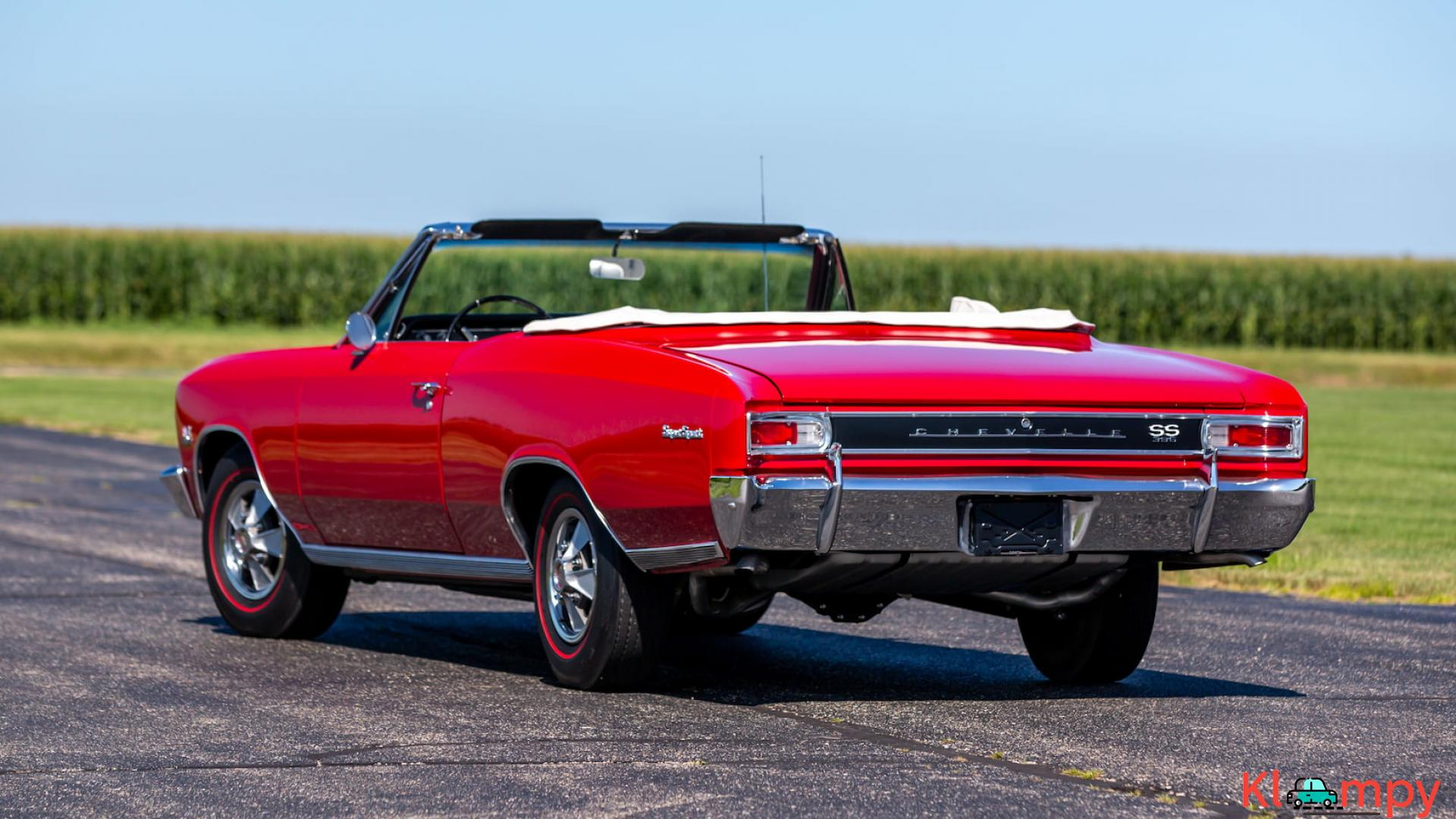 1966 Chevrolet Chevelle SS Convertible - 4/15