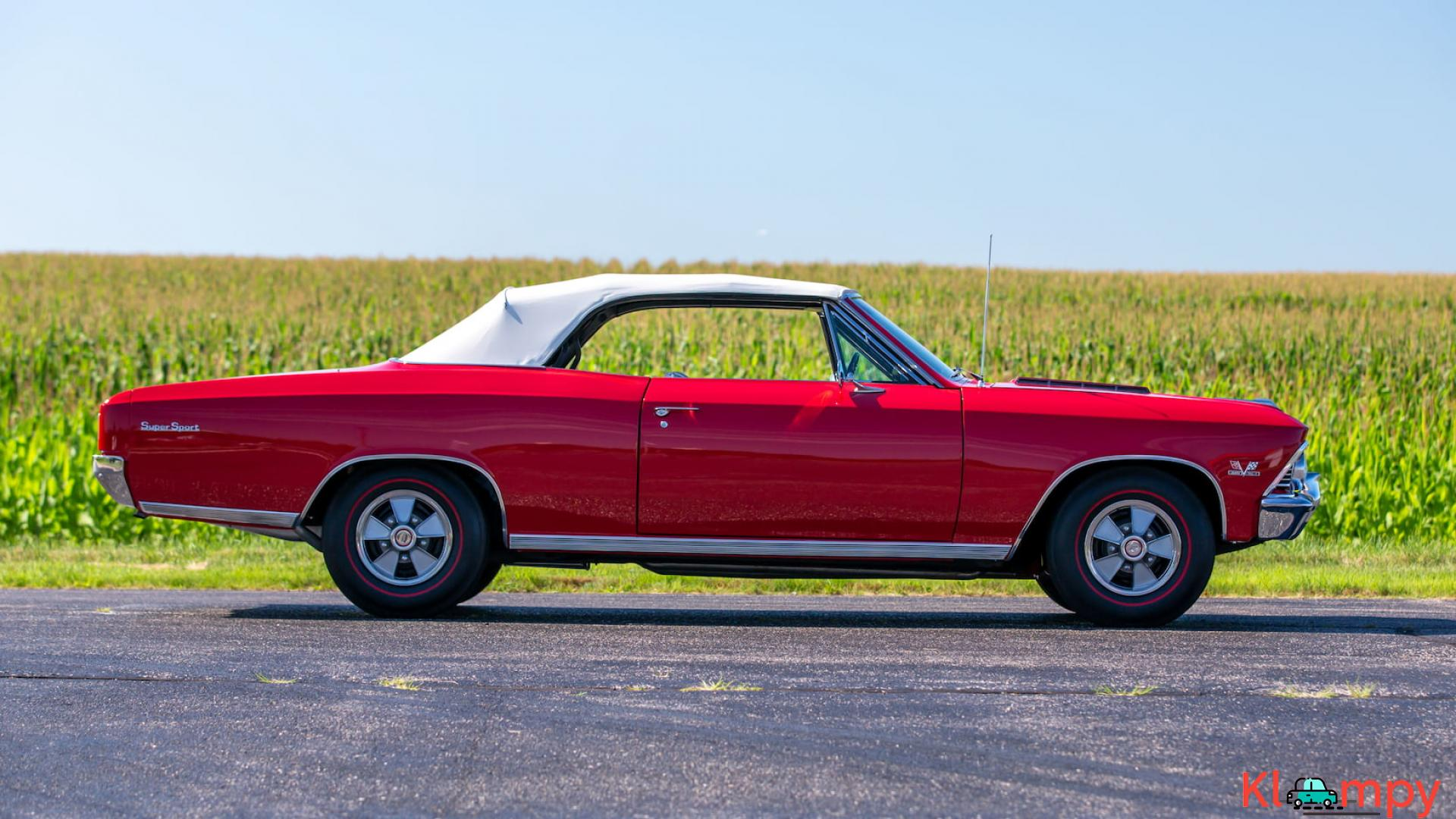 1966 Chevrolet Chevelle SS Convertible - 9/15