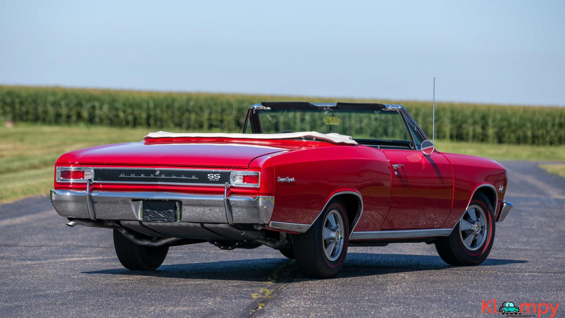 1966 Chevrolet Chevelle SS Convertible - 12/15