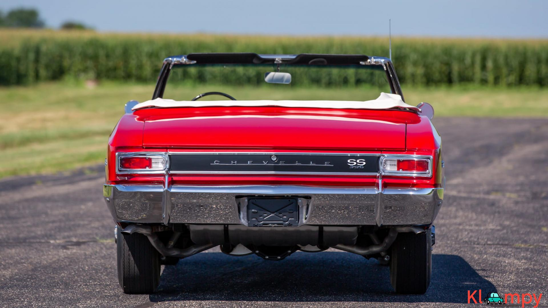 1966 Chevrolet Chevelle SS Convertible - 15/15
