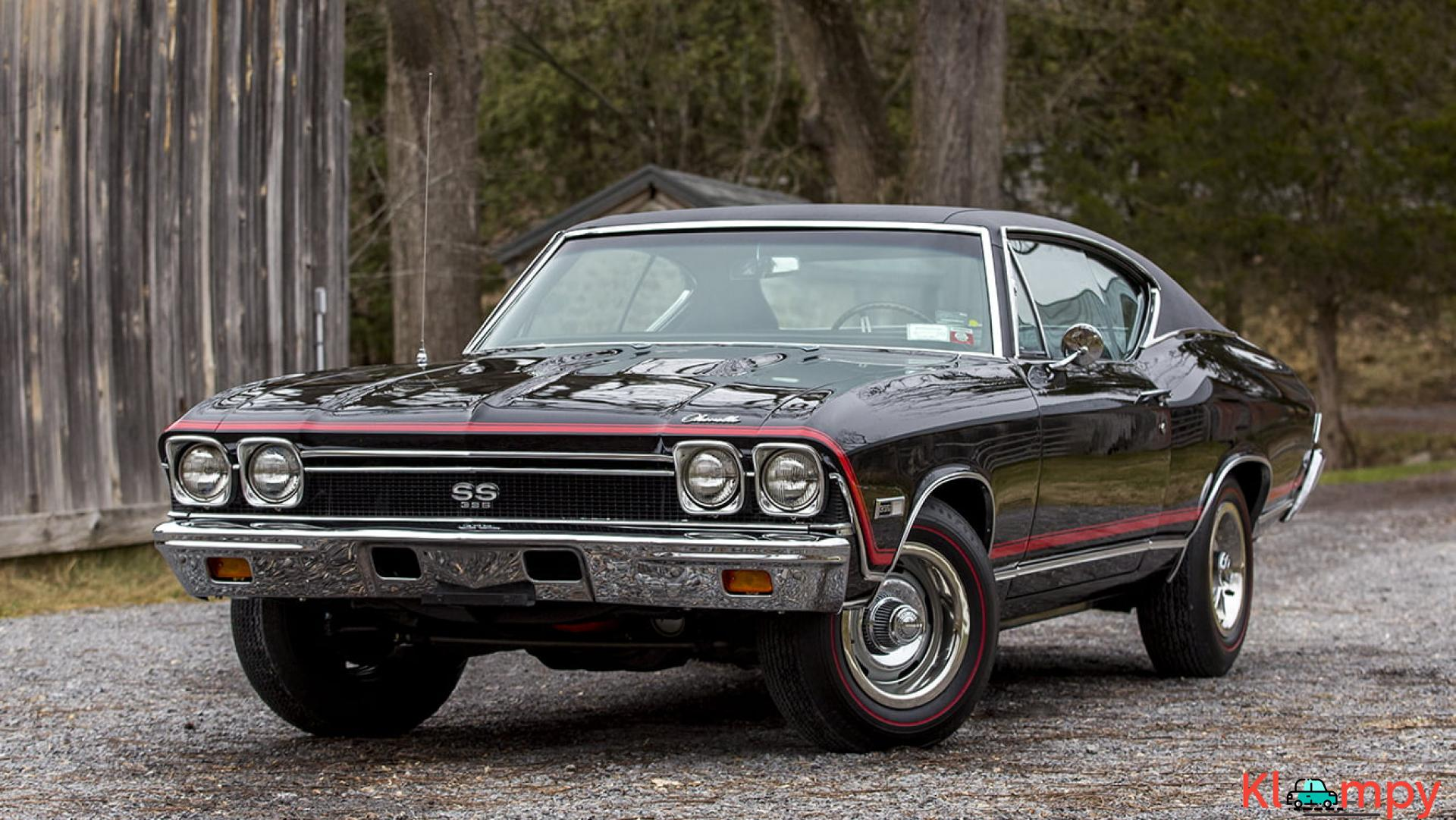 1968 Chevrolet Chevelle SS 396 Matching Numbers - 2/15