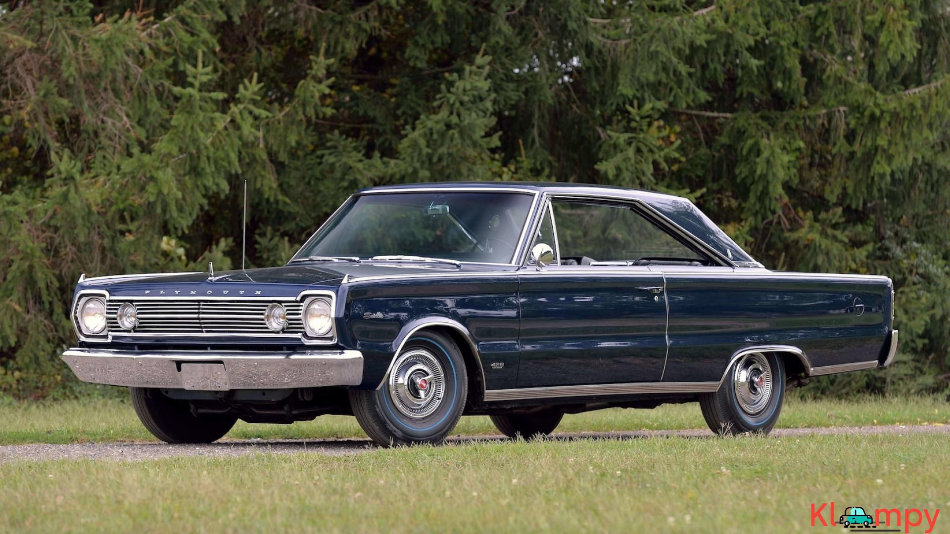 1966 Plymouth Satellite Original 426 CI - 2/18