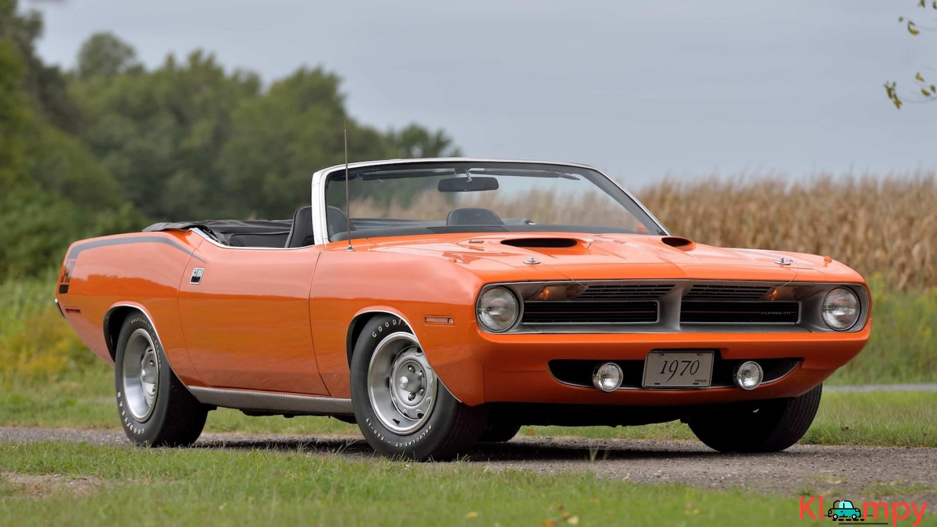 1970 Plymouth Cuda Convertible 340 Matching Numbers - 1/17