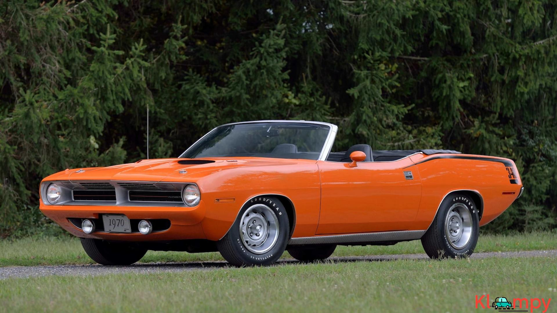 1970 Plymouth Cuda Convertible 340 Matching Numbers - 2/17