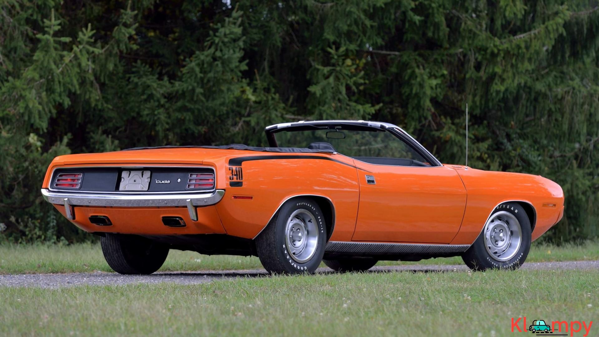 1970 Plymouth Cuda Convertible 340 Matching Numbers - 4/17