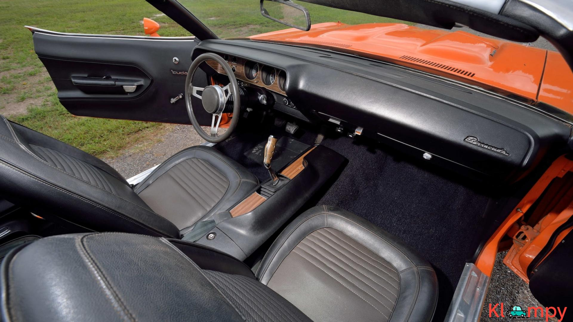 1970 Plymouth Cuda Convertible 340 Matching Numbers - 6/17