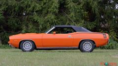 1970 Plymouth Cuda Convertible 340 Matching Numbers - Image 9/17
