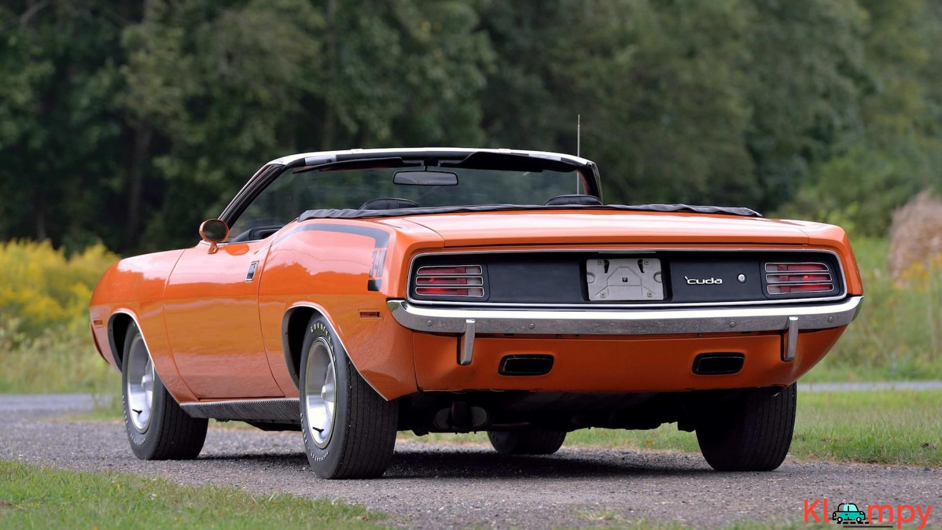 1970 Plymouth Cuda Convertible 340 Matching Numbers - 15/17