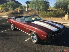 1969 Chevrolet Camaro RS SS automatic