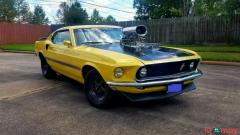 1969 Ford Mustang Fastback Mach 1 Pro Street