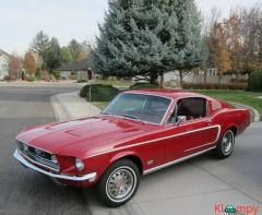 1968 Ford Mustang Fastback 390 S code