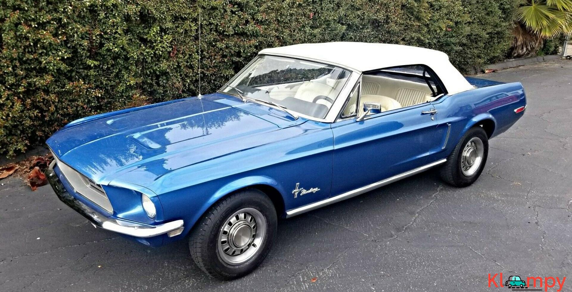 1968 Ford Mustang Convertible Restored 302 Automatic - Kloompy