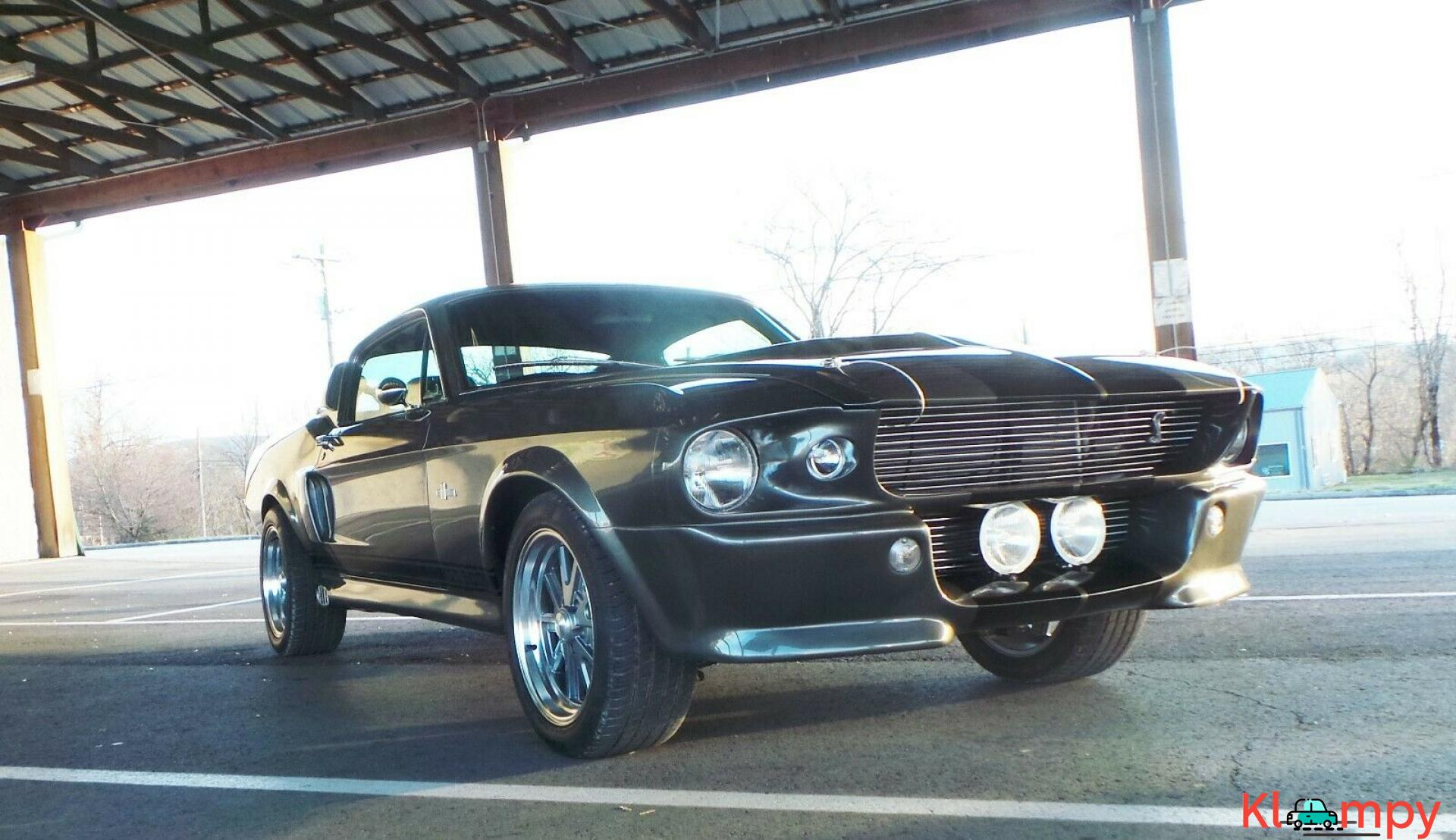 Ford Mustang Shelby Gt500 Eleanor 1967 Drift