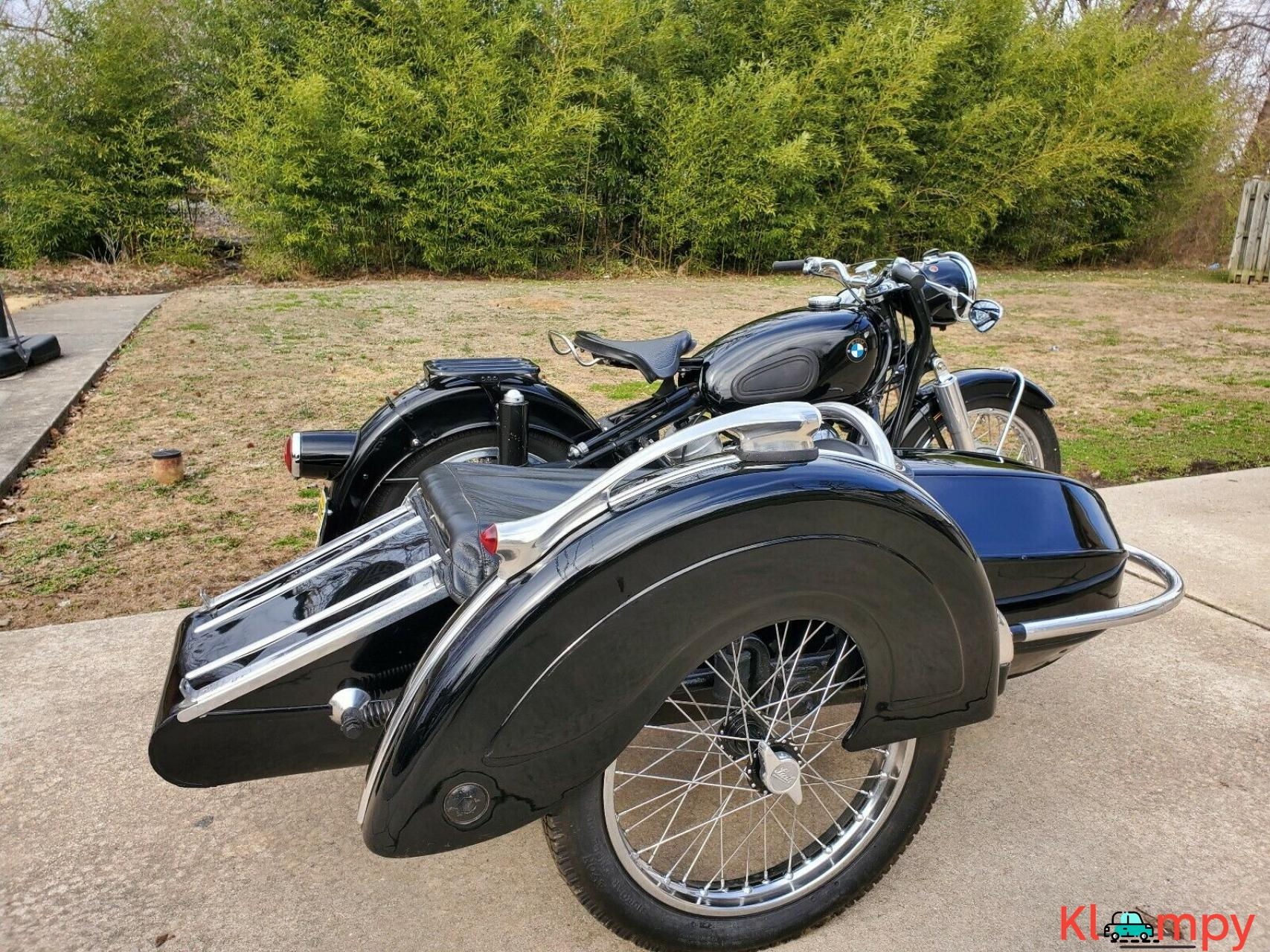 1960 BMW R50 with Steib Sidecar Black - 3/12