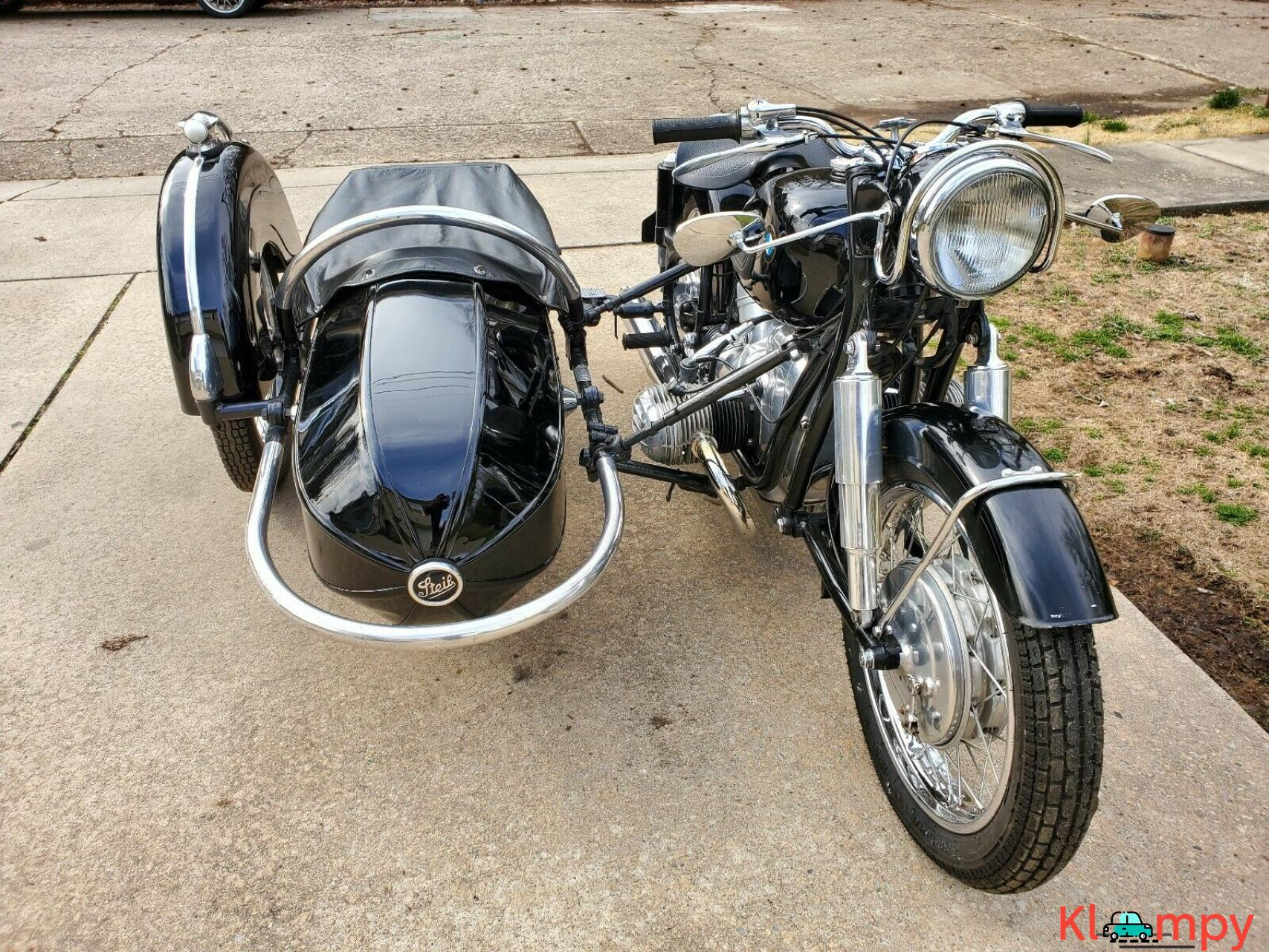 1960 BMW R50 with Steib Sidecar Black - 4/12