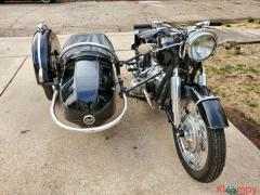 1960 BMW R50 with Steib Sidecar Black - Image 4/12