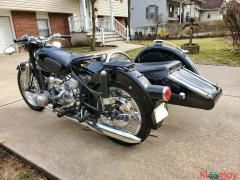 1960 BMW R50 with Steib Sidecar Black - Image 5/12