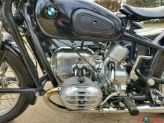 1960 BMW R50 with Steib Sidecar Black - Image 7/12