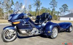 2005 BMW K1200LT Hannigan Matching Trailer