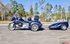 2005 BMW K1200LT Hannigan Trike Matching Trailer