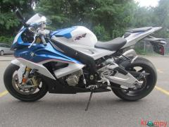 2016 BMW S1000RR Blue Light
