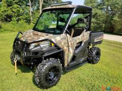 2015 Polaris Ranger 900 XP Hunter Deluxe